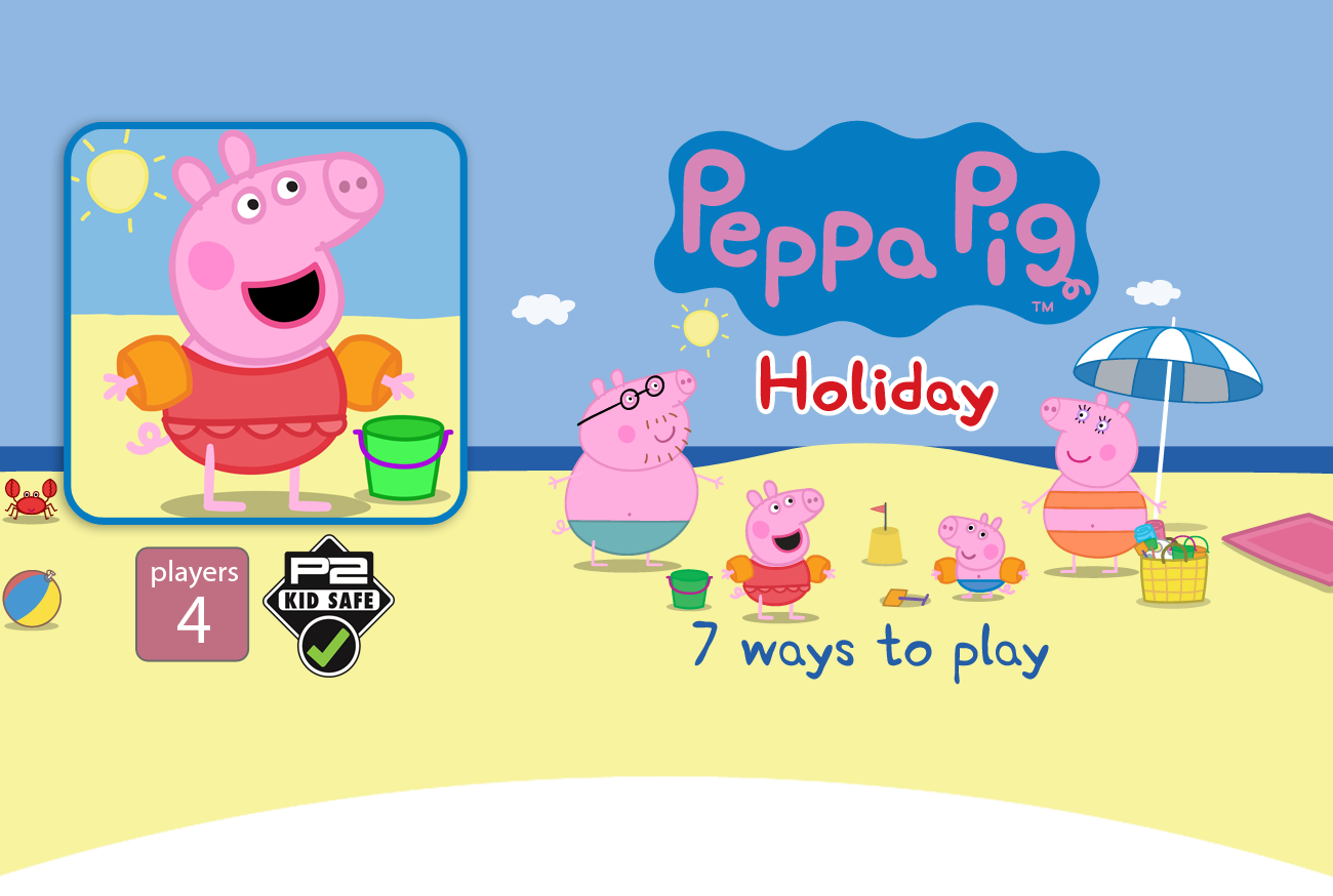 The childrens bafta nominated peppa pig app packed with 7 easy to play