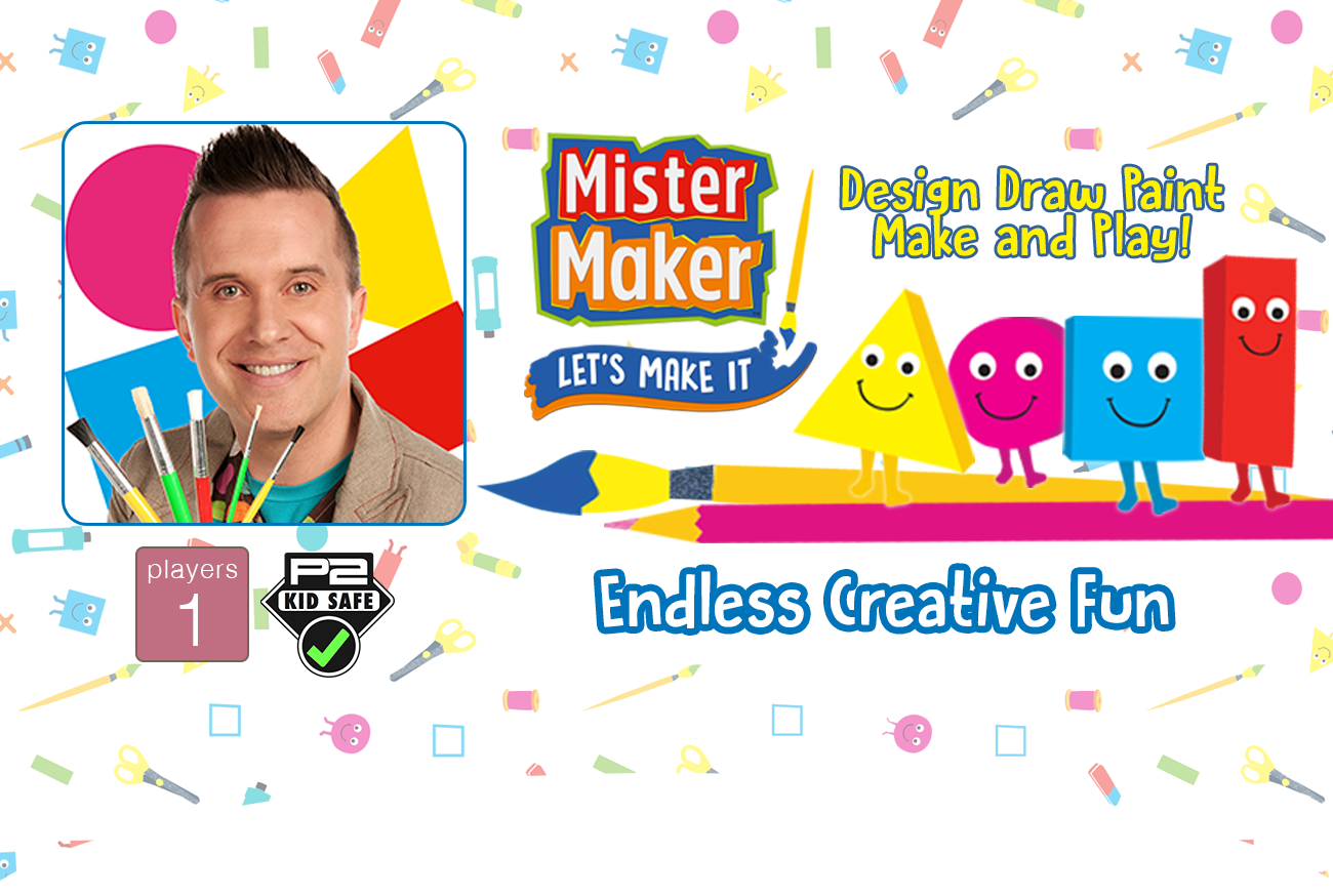 Mister Maker: Let's Make It! – Create, Draw, Make and Play app