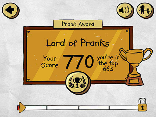 Prank Awards Screen