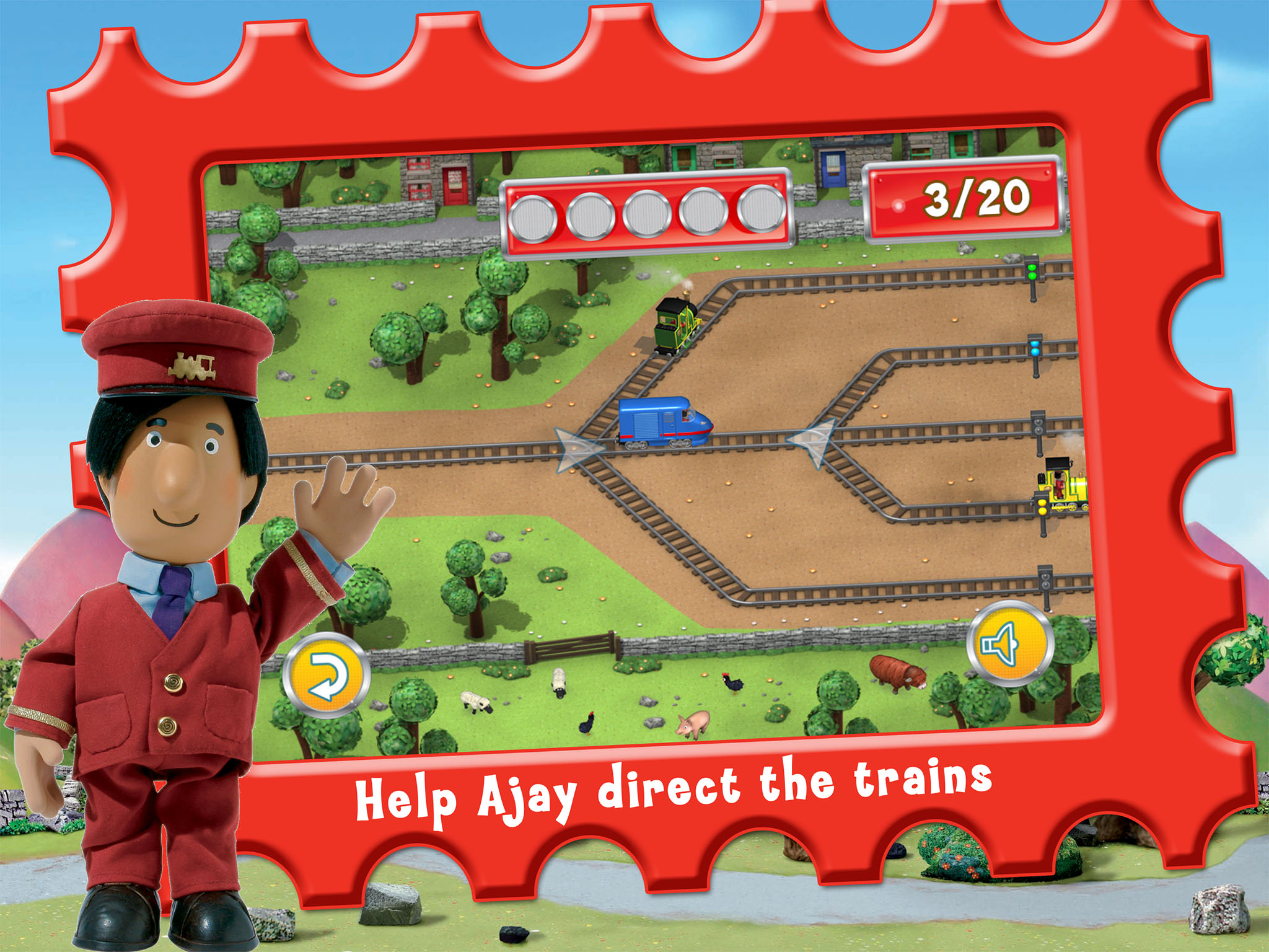 Postman Pat Special Delivery Service App