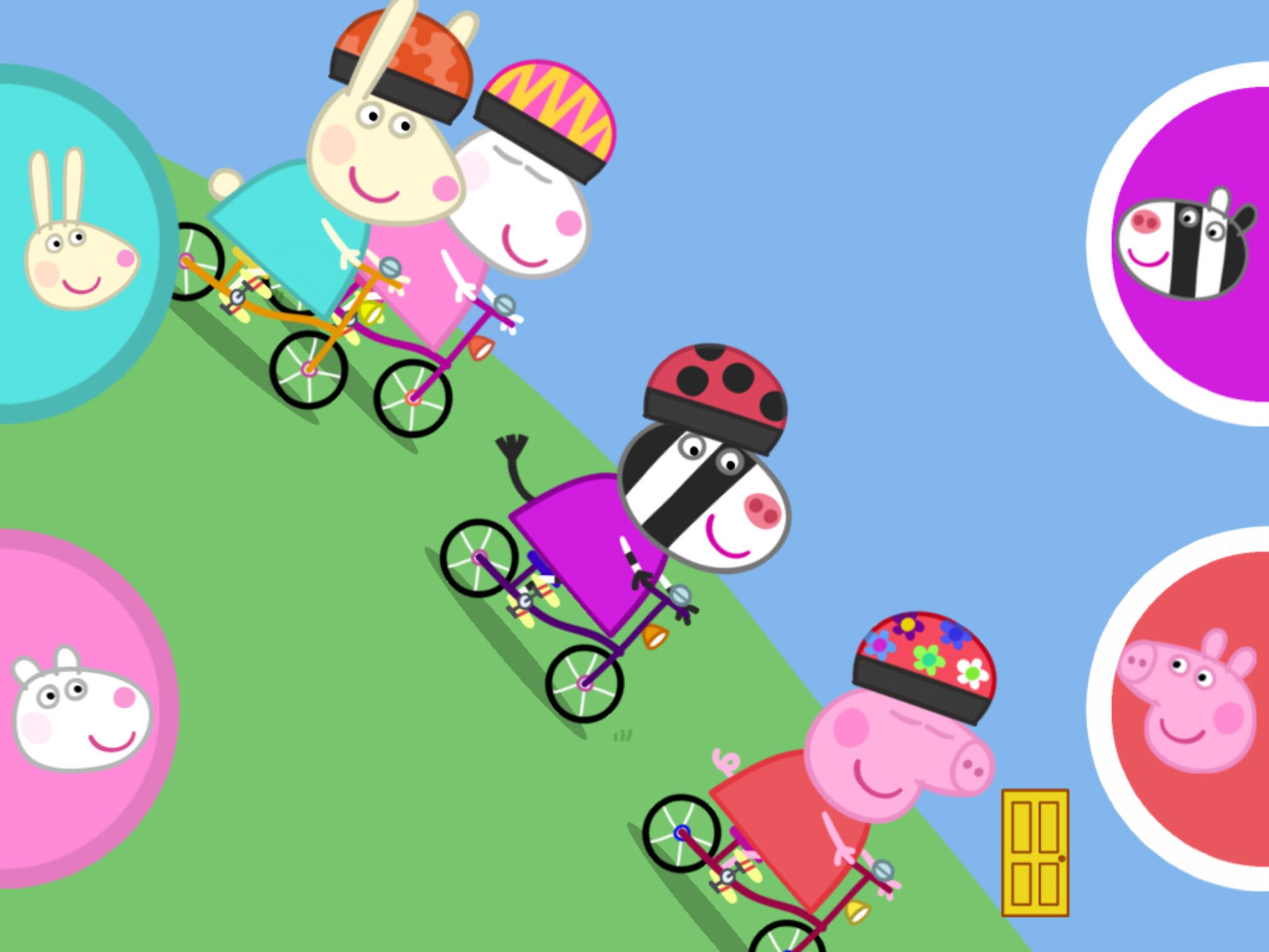 Peppa Pig S Sports Day App