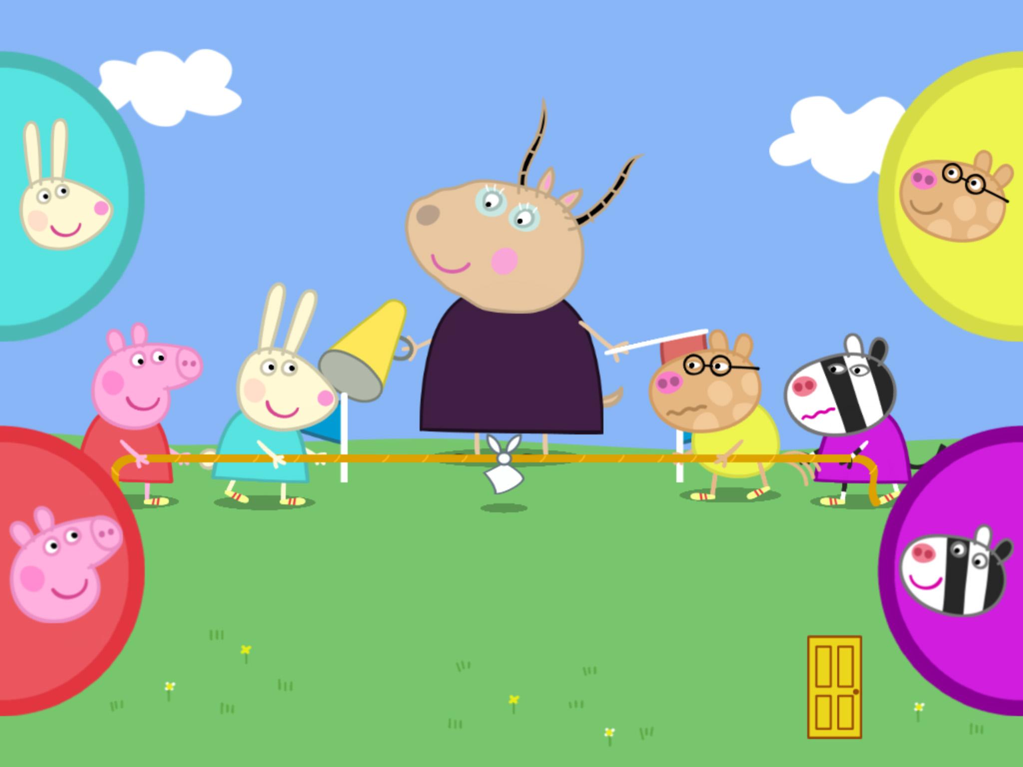 Peppa Pig's Sports Day app