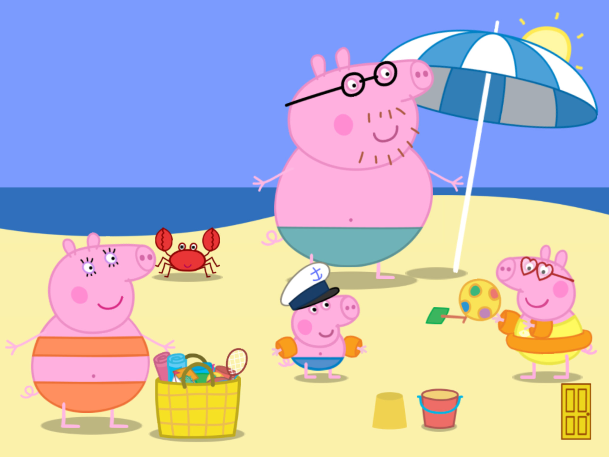 PEPPA PIG GOING TO THE BEACH | Peppa Pig Game play | Best ...
